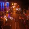 Super-imagini! Constanța văzută de sus în noaptea de Moș Nicolae. VIDEO