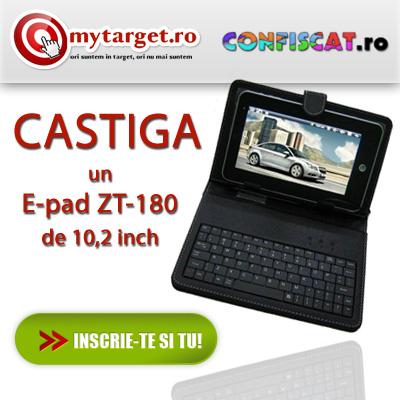 CONCURS: Castiga un E-pad ZT-180 10,2 inchi