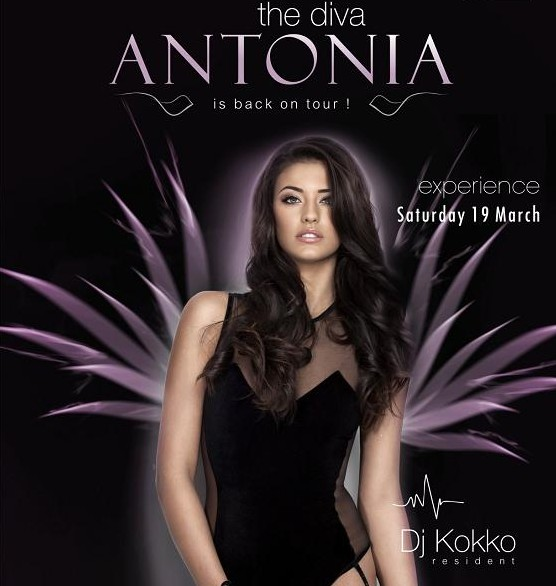 CONCERT: Antonia pe 19 martie in Club Crush