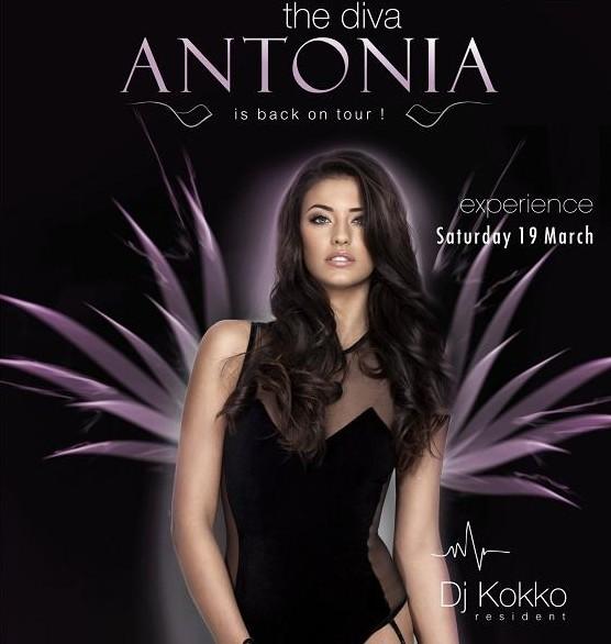 CONCERT: Antonia pe 19 martie in Club Crush