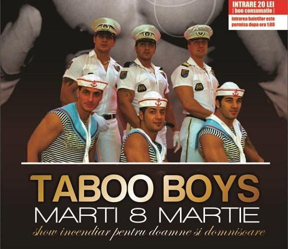 8 MARTIE: Taboo Boys in The Bank