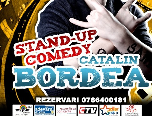 STAND-UP: Catalin Bordea 13 martie Cafe d'Art