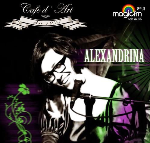 PREMIERA IN CONSTANTA – Concert Alexandrina Hristov in Cafe d'Art