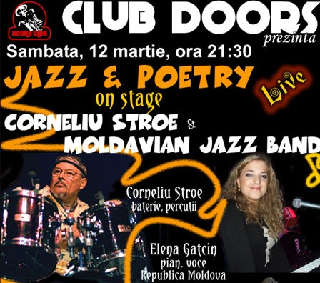 CONCERT: Corneliu Stroe and Moldavian Jazz Band, 12 martie