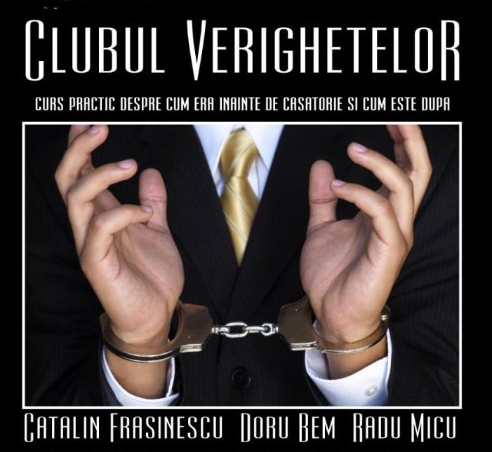 TEATRU: Clubul Verighetelor joi 17 martie Cafe d'Art