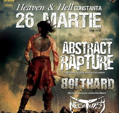 Concert Abstract Rapture, Bolthard si Negativist in Heaven & Hell