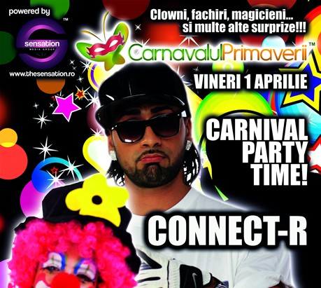 Carnavalul Primaverii: CONNECT-R in Club Wish