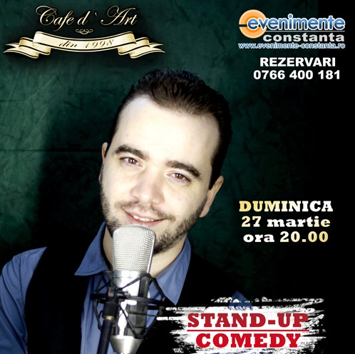 STAND UP: Cristian Dumitru in Cafe d'Art