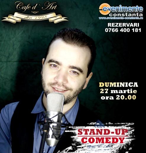 CONCURS: Castiga 2 bilete la Stand-up Cristian Dumitru