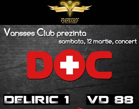 Concert DOC in club Vansses