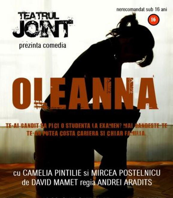 TEATRU: Oleanna in Cafe d'Art