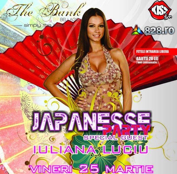 Japanesse Party in Club The Bank