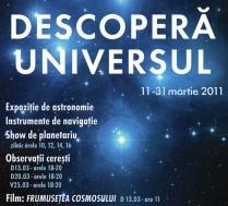 "Expozitia ""Descopera Universul"" la Planetariul Constanta"