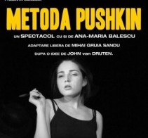 TEATRU: Metoda Pushkin 3 martie in Cafe d'Art