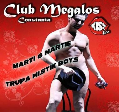 8 MARTIE: Mistik Boys in Club Megalos