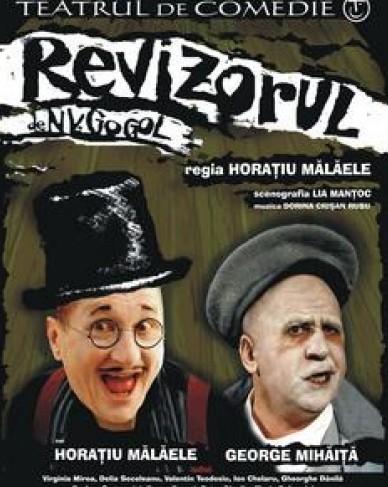 """Comedia """"Revizorul"""" cu Horatiu Malaele"""