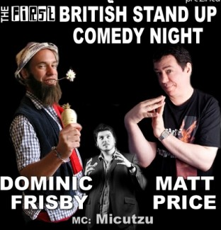 British Stand-up comedy in Club Phoenix