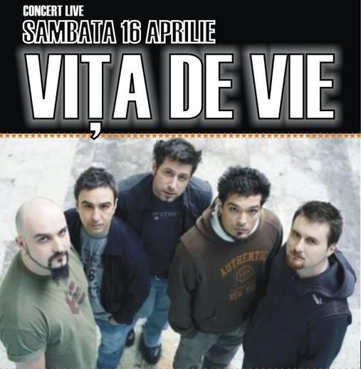 Concert Vita de Vie pe 16 aprilie