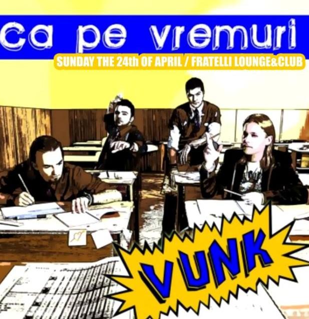 Concert VUNK in Fratelli