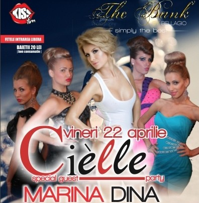 Cielle Party in club The Bank