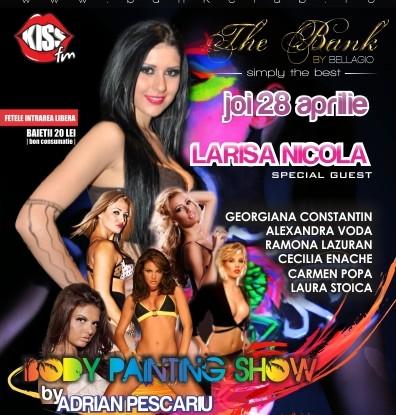 Body Painting Show cu Larisa Nicola