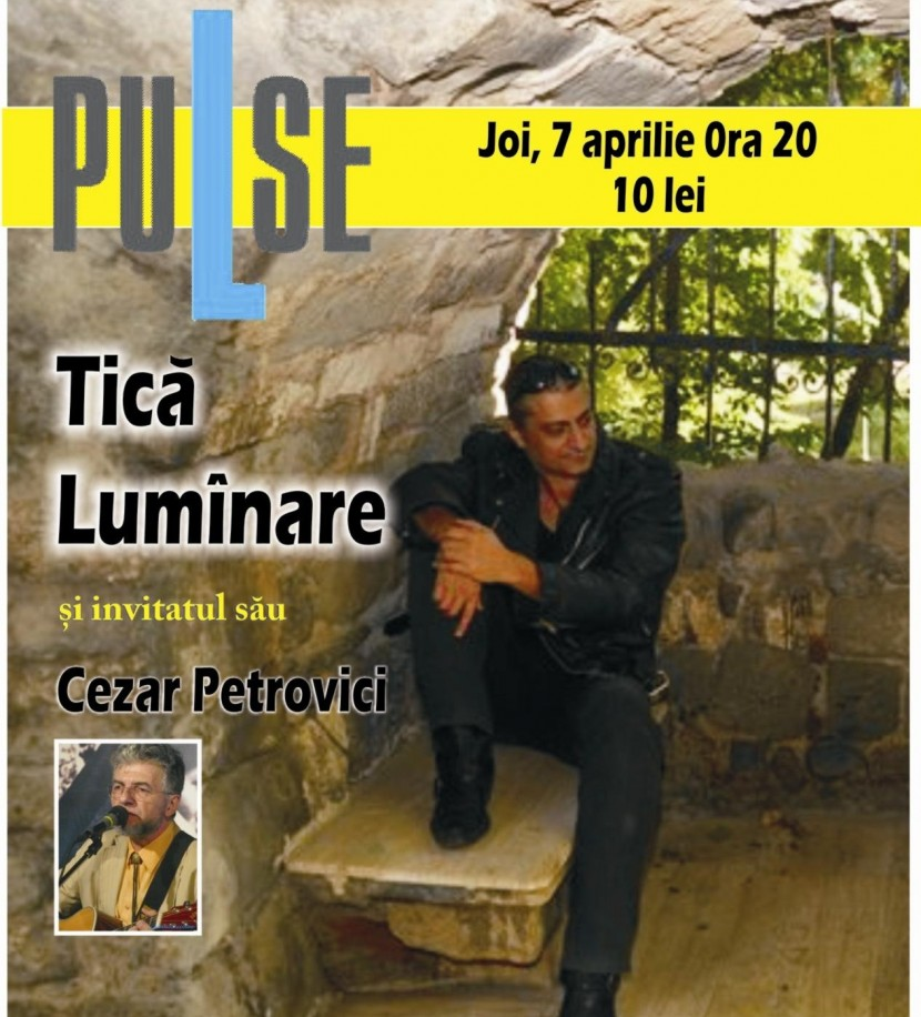 Concert FOLK: Tica Lumanare in Pulse