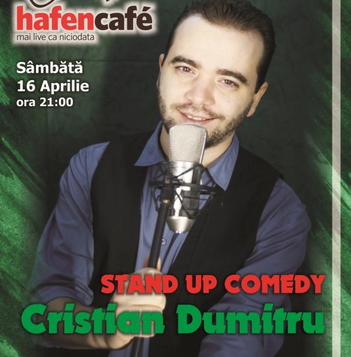 Stand-up Comedy cu Cristian Dumitru in Hafen Cafe