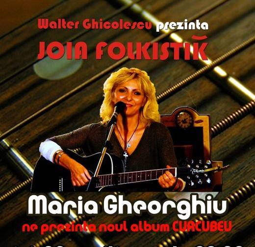 Concert Folk alaturi de Maria Gheorghiu
