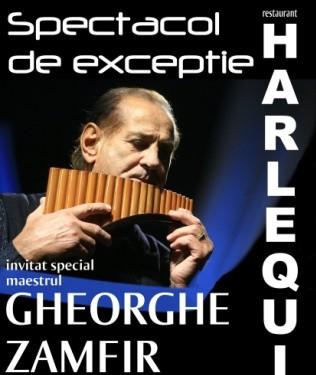 Concert Gheorghe Zamfir sambata 30 aprilie