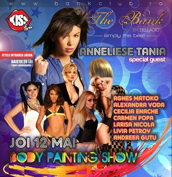 Body Painting Show cu Anneliese Tania