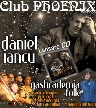Concert Daniel Iancu și Gashcademia de Folk