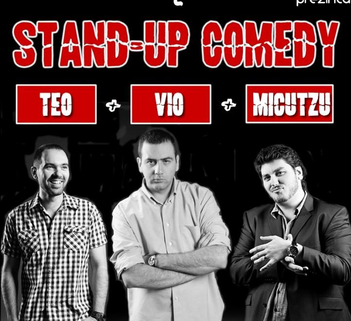 Stand-up Comedy cu Teo, Vio si Micutzu