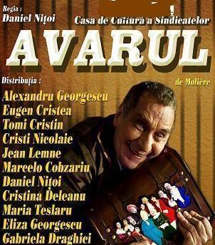 Teatru: AVARUL de Moliere