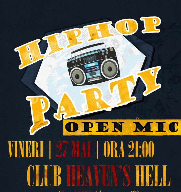 HIP HOP PARTY – OPEN MIC