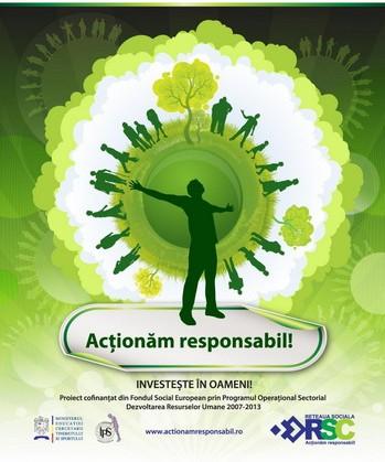 """Conferința  """"Acționăm responsabil – dezvoltare economică echilibrată și echitabilă"""""""