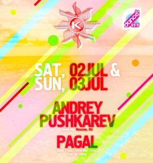 Andrey Pushkarev & Pagal la Kudos Beach