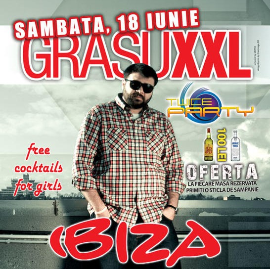 Grasu XXL in Ibiza Summer Club din Mamaia