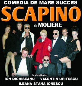Comedie de mare succes: SCAPINO