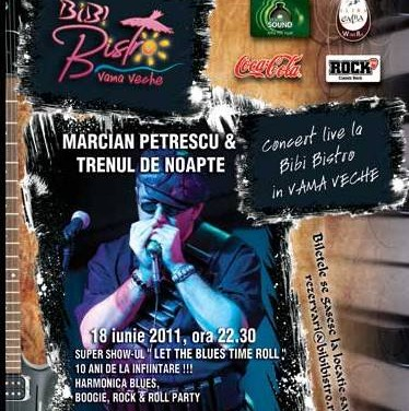 Concert de Jazz cu Marcian Petrescu