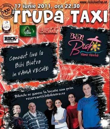 Concert LIVE cu trupa TAXI