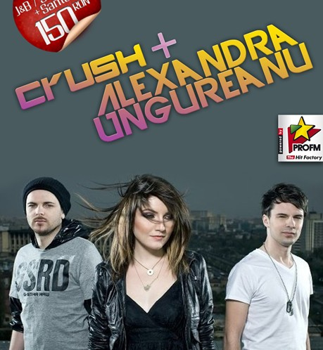 Concert Crush si Alexandra Ungureanu