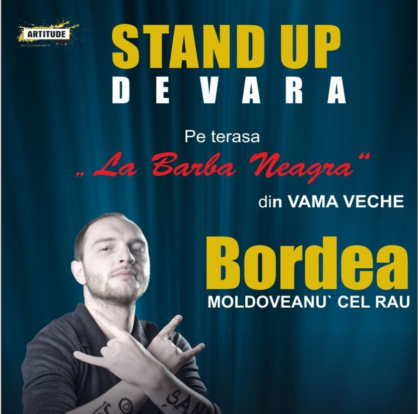 Stand-up comedy cu Catalin Bordea