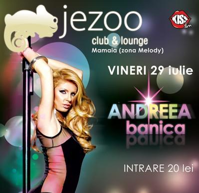 Concert senzational ANDREEA BANICA in JEZOO