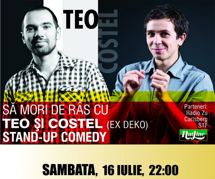 Stand-up comedy cu Teo si Costel in Mamaia