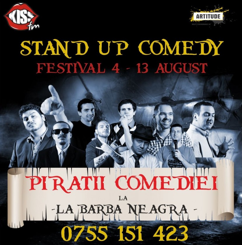 FESTIVALUL de STAND UP COMEDY in Vama Veche!