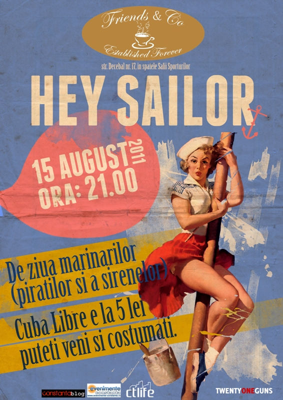 Hey Sailor PARTY in Friends