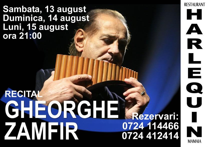 Recital Gheorghe Zamfir