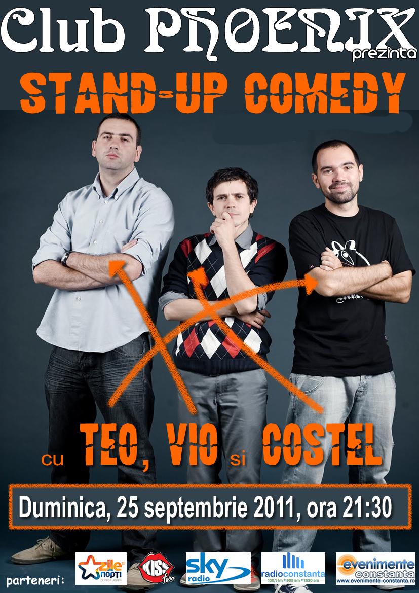 Stand-up Comedy cu Teo, Vio si Costel