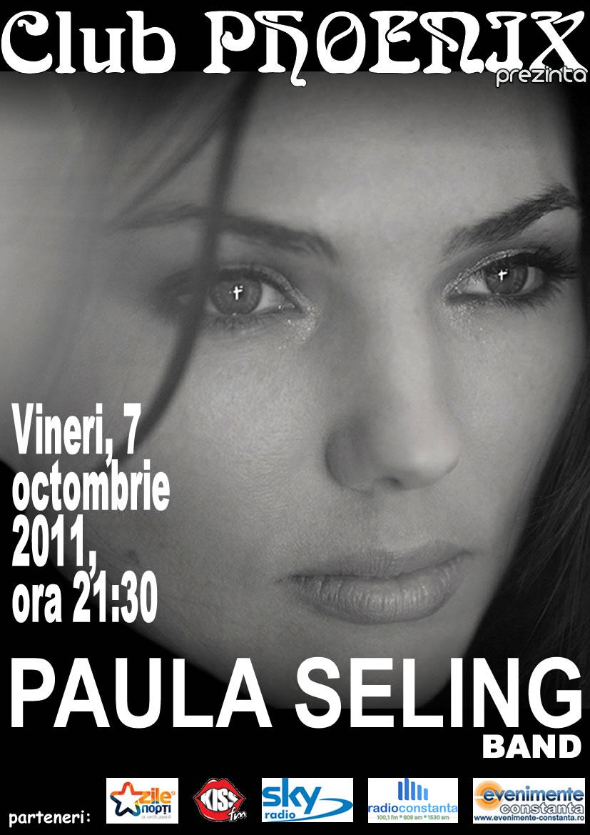 Concert PAULA SELING in Club Phoenix