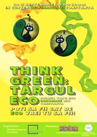 """""""Think Green: Târgul eco"""" sau cum să refoloseşti prin artă"""